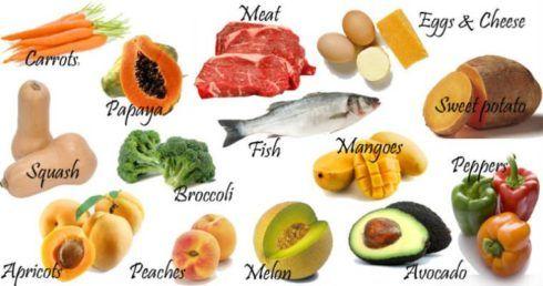 alimentos com vitamina d 490x258 Deficiência da vitamina D, sintomas e como tratar