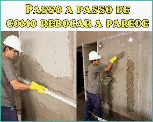 passo a passo rebocar parede 490x393 COMO REBOCAR PAREDES  para quem está aprendendo a profissão de pedreiro