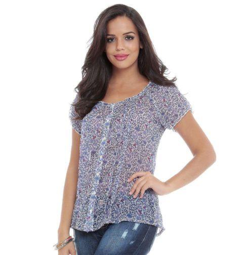 blusas femininas mais soltinhas 490x504 Modelos de blusas : Regatinhas, modelos justinhos e muito mais