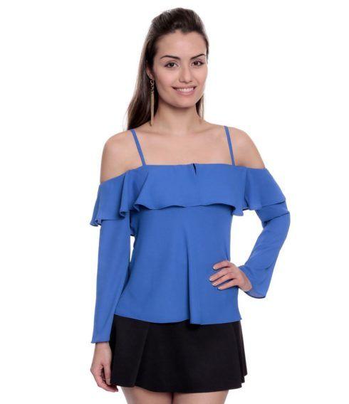 blusas femininas modelo ciganinha 490x568 Modelos de blusas : Regatinhas, modelos justinhos e muito mais