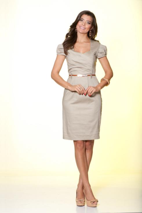imagens de vestidos tubinho evang%C3%A9licos 490x736 Vestidos evangélicos modelos tubinho e muito mais