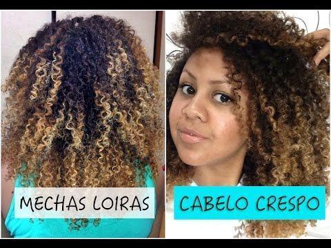 mechas em cabelos crespos MECHAS PARA CABELOS ESCUROS: Inspire-se nos looks moderninhos