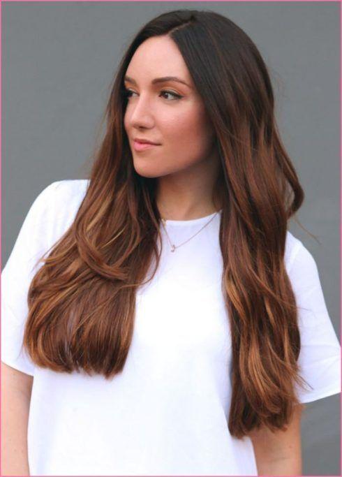 mechas em cabelos escuros tons de vermelho 490x683 MECHAS PARA CABELOS ESCUROS: Inspire-se nos looks moderninhos