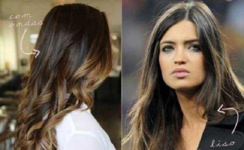 mechas para cabelos escuros ou castanhos 490x301 MECHAS PARA CABELOS ESCUROS: Inspire-se nos looks moderninhos
