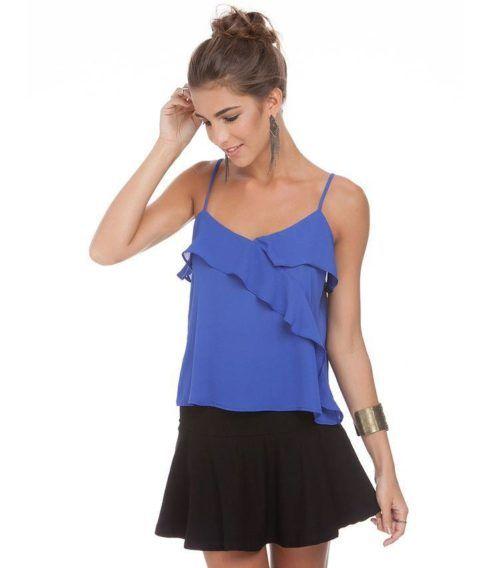 modelo de blusa em seda crepe 490x568 Modelos de blusas : Regatinhas, modelos justinhos e muito mais