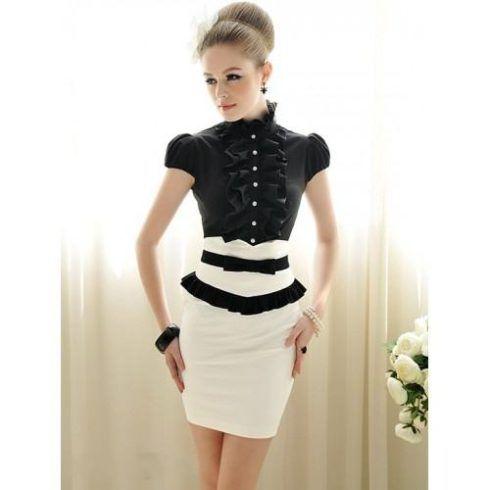 modelos de blusas sociais femininas 490x490 Modelos de blusas : Regatinhas, modelos justinhos e muito mais