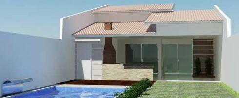 Fachadas para casas pequenas e modernas em 30 projetos for Casa moderna wiki