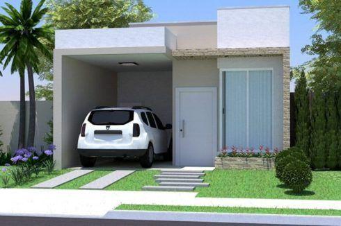 fachadas para casas pequenas e modernas em 30 projetos