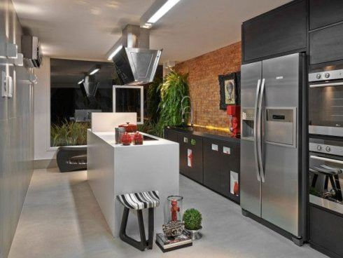 imagem 14 490x368 COZINHA COM ILHA NO MEIO : 30 ideias para ter a cozinha perfeita