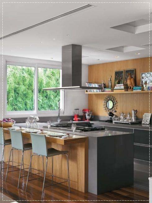 imagem 19 490x653 COZINHA COM ILHA NO MEIO : 30 ideias para ter a cozinha perfeita