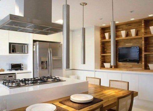 imagem 21 490x358 COZINHA COM ILHA NO MEIO : 30 ideias para ter a cozinha perfeita