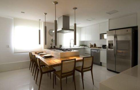 imagem 25 490x316 COZINHA COM ILHA NO MEIO : 30 ideias para ter a cozinha perfeita
