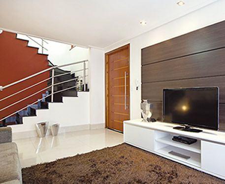 Escadas para sobrados de diversos modelos para um lar mais for Casa moderna wiki