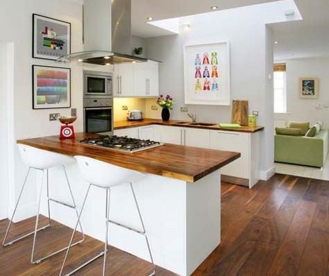 imagem 36 COZINHA COM ILHA NO MEIO : 30 ideias para ter a cozinha perfeita