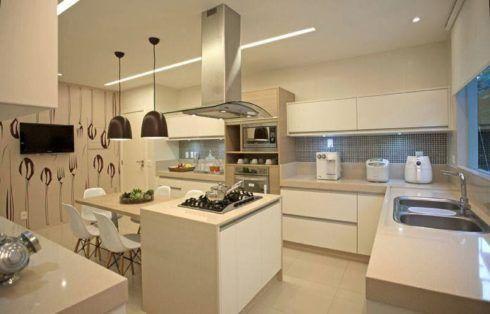 imagem 9 490x314 COZINHA COM ILHA NO MEIO : 30 ideias para ter a cozinha perfeita