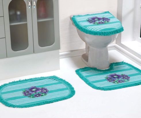 imagem 21 490x408 JOGO DE TAPETE PARA banheiro, enxoval de casamento