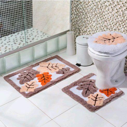 imagem 30 490x490 JOGO DE TAPETE PARA banheiro, enxoval de casamento