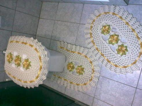 jogo de tapete para banheiro 1 490x368 JOGO DE TAPETE PARA banheiro, enxoval de casamento