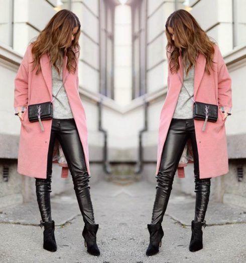 calcas de couro femininas 10 490x522 Como Usar CALÇA DE COURO em diversos looks