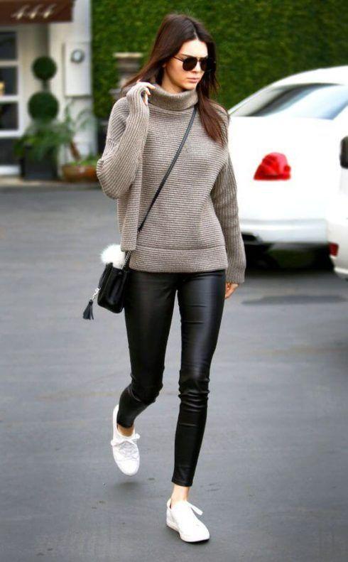 calcas de couro femininas 11 490x791 Como Usar CALÇA DE COURO em diversos looks