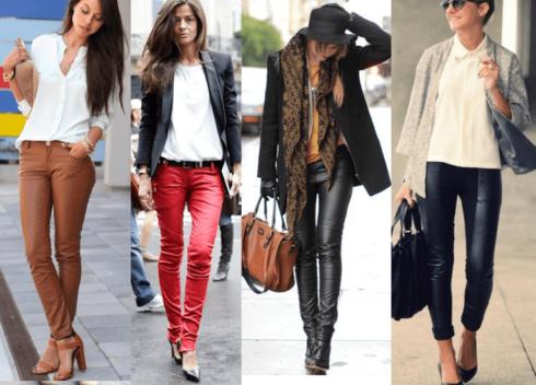 calcas de couro femininas 3 490x352 Como Usar CALÇA DE COURO em diversos looks