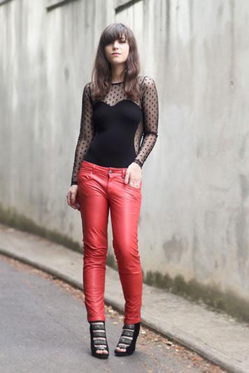 calcas de couro femininas 8 Como Usar CALÇA DE COURO em diversos looks