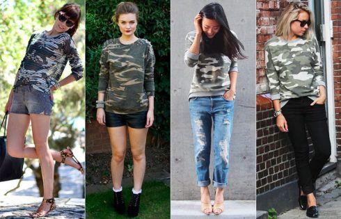 camisa camuflada feminina 7 490x315 Blusinha e camisa CAMUFLADA feminina siga a tendência