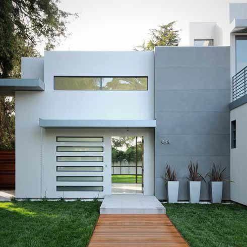 Casas e sobrados com telhado embutido constru o moderna for Casas modernas wikipedia