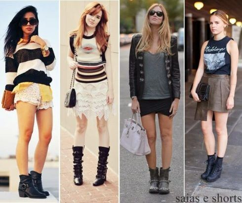 coturno feminino com saia 6 490x412 COTURNO Feminino com shorts, calça, vestido, saia LOOks