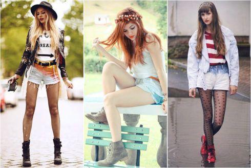 coturno feminino com shorts 1 490x327 COTURNO Feminino com shorts, calça, vestido, saia LOOks