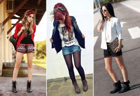 coturno feminino com shorts 8 490x338 COTURNO Feminino com shorts, calça, vestido, saia LOOks