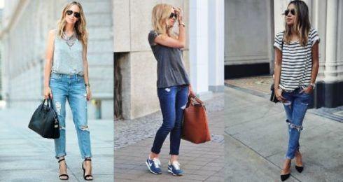 estilo casual feminino 3 490x260 Moda Estilo CASUAL Feminino com Calça, vestido, shorts, saia e calçados