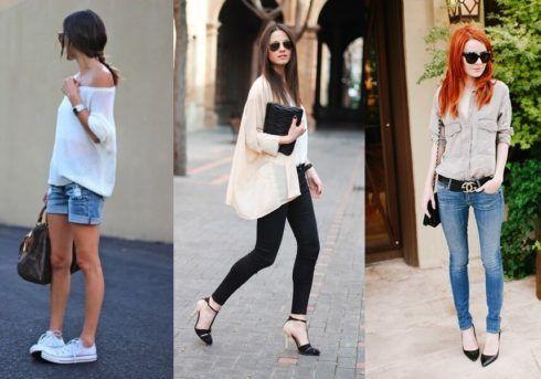 estilo casual feminino 5 490x343 Moda Estilo CASUAL Feminino com Calça, vestido, shorts, saia e calçados
