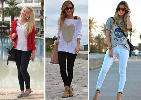 estilo casual feminino 6 490x348 Moda Estilo CASUAL Feminino com Calça, vestido, shorts, saia e calçados
