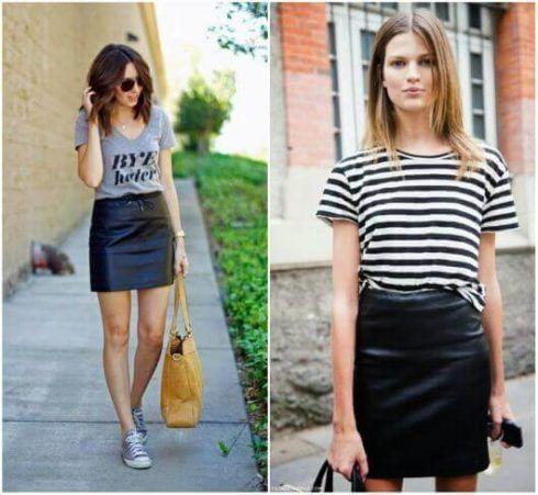 estilo casual feminino 7 490x451 Moda Estilo CASUAL Feminino com Calça, vestido, shorts, saia e calçados