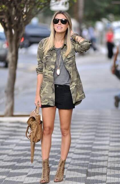 imagem 12 7 Blusinha e camisa CAMUFLADA feminina siga a tendência