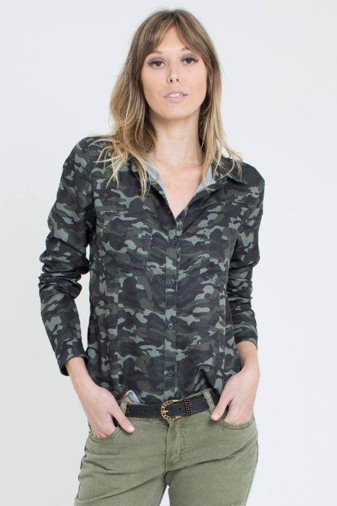 imagem 15 7 490x735 Blusinha e camisa CAMUFLADA feminina siga a tendência