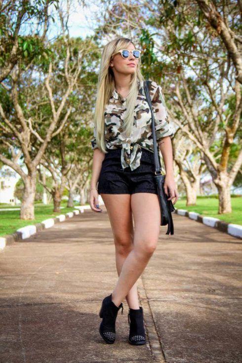 imagem 16 7 490x735 Blusinha e camisa CAMUFLADA feminina siga a tendência