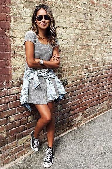 imagem 24 1 Moda Estilo CASUAL Feminino com Calça, vestido, shorts, saia e calçados