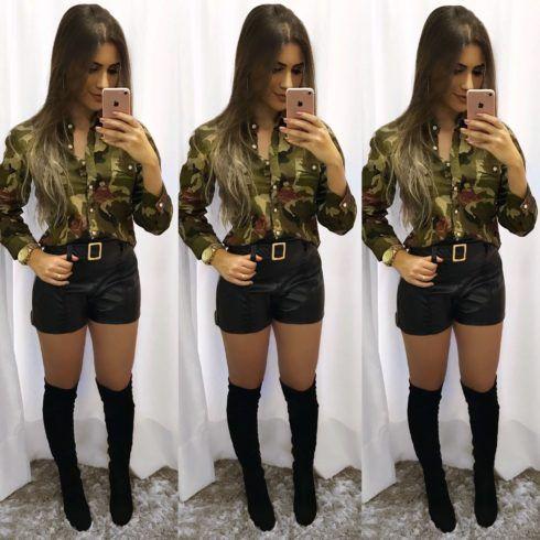imagem 24 9 490x490 Blusinha e camisa CAMUFLADA feminina siga a tendência