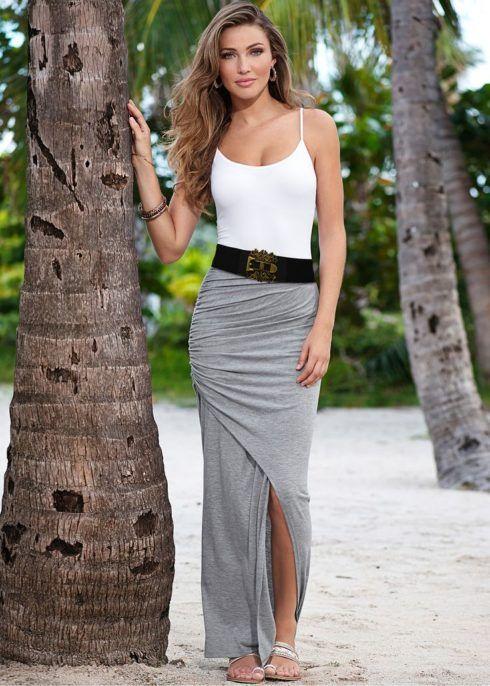 saia linda longa 490x686 SAIAS longas da Moda : Conheça os modelos atuais