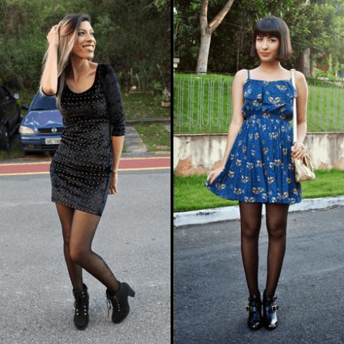 vestido com bota 13 490x490 Como usar Vestido com BOTA: cano curto ou longo