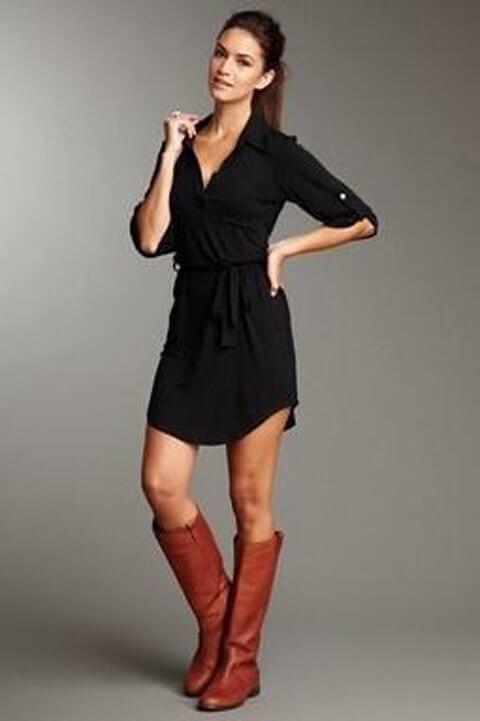 vestido com bota 15 Como usar Vestido com BOTA: cano curto ou longo