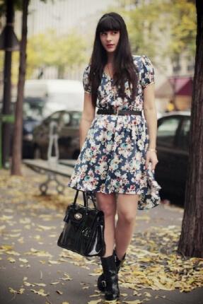 vestido com bota 6 Como usar Vestido com BOTA: cano curto ou longo