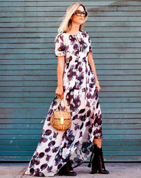 vestido longo com bota 4 490x615 Como usar Vestido com BOTA: cano curto ou longo
