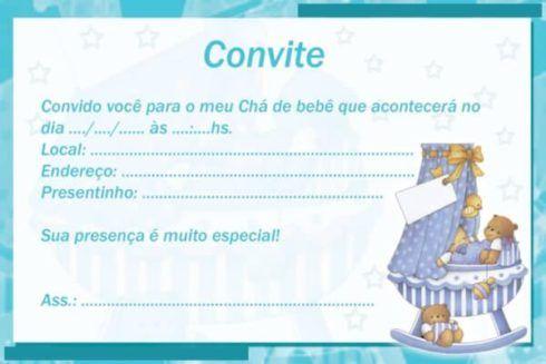 convites para cha de bebe 7 490x327 20 Convites para chá de fraldas ou bebê para Imprimir editáveis