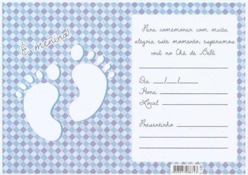 20 Convites Para Chá De Fraldas Ou Bebê Para Imprimir Editáveis