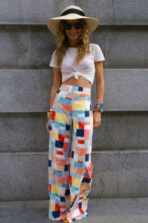 imagem 13 2 490x738 Calça CINTURA Alta Feminina Modelitos da moda