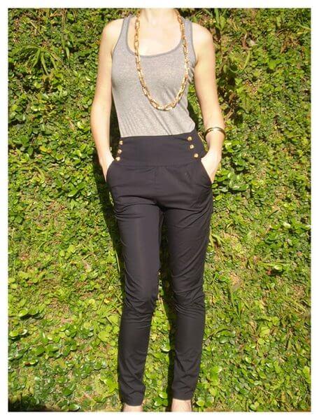 imagem 17 1 Calça CINTURA Alta Feminina Modelitos da moda