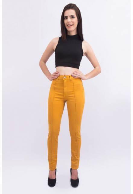 imagem 5 Calça CINTURA Alta Feminina Modelitos da moda